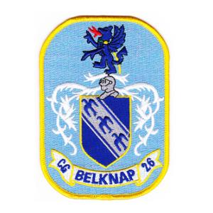 Us Army Surplus >> USS Belknap CG-26 Ship Patch | Flying Tigers Surplus