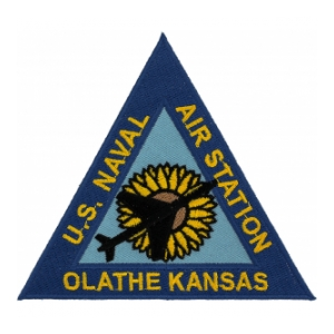 Naval Air Station Olathe Kansas Patch