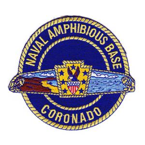 Naval Amphibious Base Coronado Patch