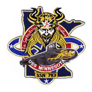 USS Minnesota SSN-783 Patch