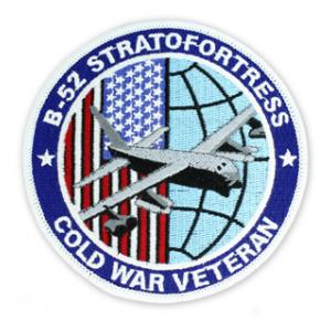 B 52 Stratofortress Cold War Veteran Patch Flying Tigers