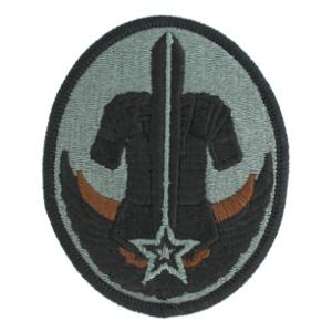 Reserve Careers Division Patch, Foliage Green with Velcro