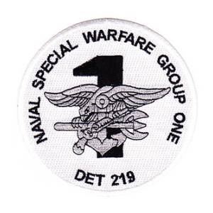 Naval Special Warfare Group One, DET 219 Patch