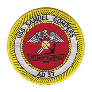 USS Samuel Gompers AD-37 Patch