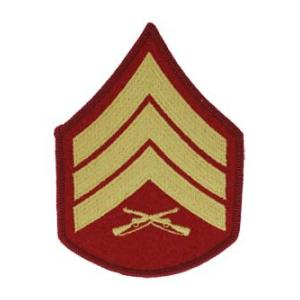 Marine Corps Sergeant (Sleeve Chevron) (Female)