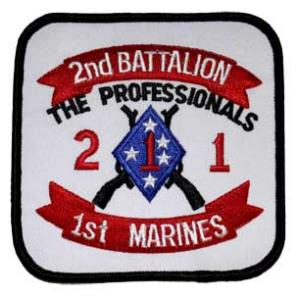 2nd Battalion / 1st Marines Patch
