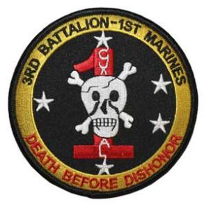 3rd Battalion / 1st Marines Patch (Fortes Fortuna Juvat)