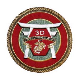 3rd Marine Force Service Support Group Patch