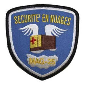 Marine Air Group 25 Patch
