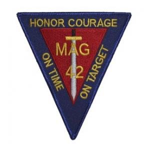 Marine Aircraft Group 42 Patch