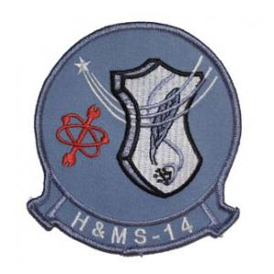 Marine Headquarters and Maintenance Squadron H&MS -14 Patch