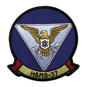 Marine Headquarters and Maintenance Squadron H&MS -37 Patch
