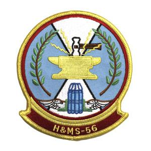 Marine Headquarters and Maintenance Squadron H&MS -56 Patch