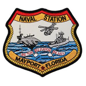 Naval Station Mayport Florida Patch