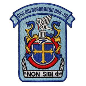USS Goldsborough DDG-20 Ship Patch