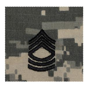 Army Master Sergeant Rank (Sew On) (Digital All Terrain)