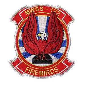 Marine Wing Support Squadron  MWSS-172 Patch