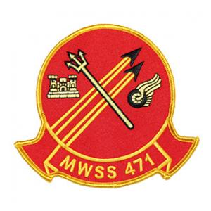 Marine Wing Support Squadron MWSS-471 Patch