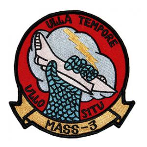 Marine Air Support Squadron MASS-3 Patch