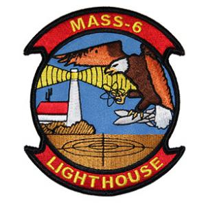 Marine Air Support Squadron MASS-6 Patch