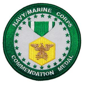 Navy and Marine Corps Commendation Medal Patch