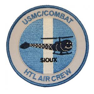 Marine Combat Aircrew HTL Sioux Patch (Korea)