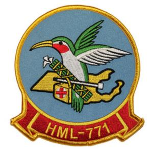 Marine Light Helicopter Squadron HML-771 Patch