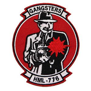 Marine Light Helicopter Squadron HML-776 Patch (GANGSTERS)