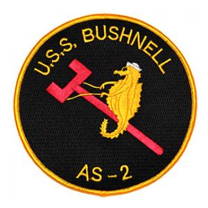 USS Bushnell AS-2 Ship Patch