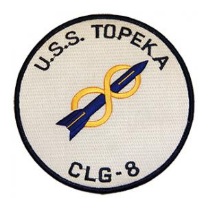 USS Topeka CLG-8 Ship Patch