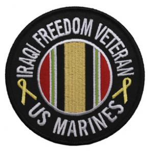 US Marines Iraqi Freedom Veteran Patch