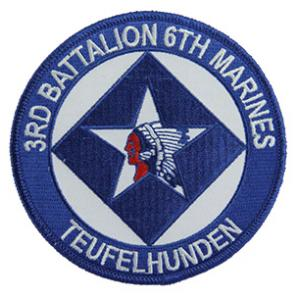 3rd Battalion / 6th Marines Patch