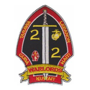 2nd Battalion / 2nd Marines Patch