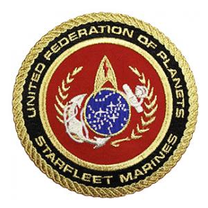 United Federation Of Planets Starfleet Marines Patch