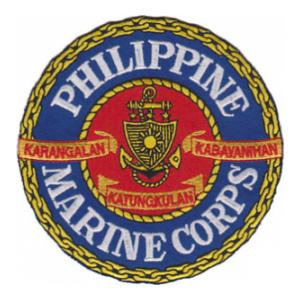 Philippine Marines Patch