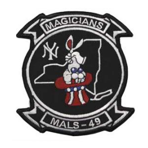 Marine Aviation Logistics Squadron MALS-49 Patch (Magicians)