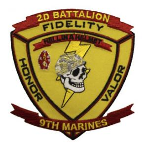 2nd Battalion / 9th Marines Patch