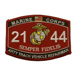 USMC MOS 2144 Arty Track Vehicle Repairman Patch