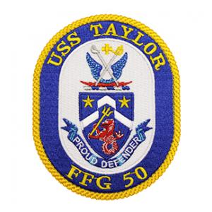 USS Taylor FFG-50 Ship Patch