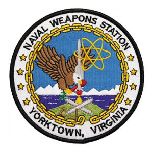 Naval Weapons Station Yorktown, Virginia Patch