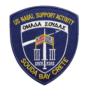 Naval Support Activity Souda Bay Crete Patch