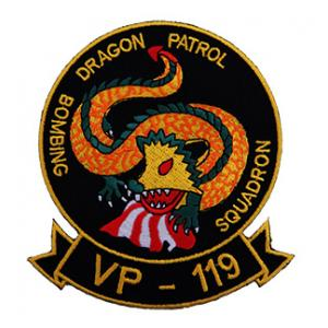 Navy Patrol Squadron VP-119 Patch