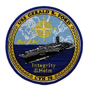USS Gerald R. Ford CVN-78 Ship Patch