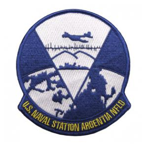 Naval Station Argentia Field Patch