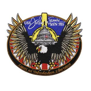 USS John Warner SSN-785 Patch