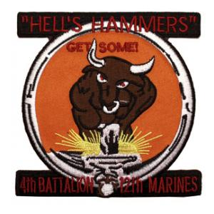 4th Battalion / 12th Marines Patch