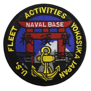 Naval Base Yokosuka Japan U.S. Fleet Activities Patch