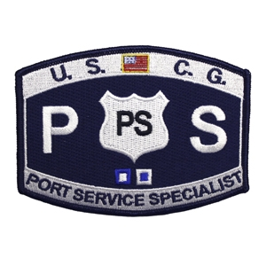USCG MOS PS Port Service Specialist Patch