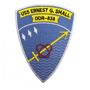 USS E.G. Small DDR-838 Ship Patch