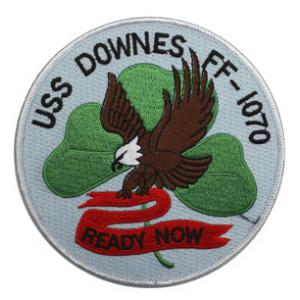 USS Downes FF-1070 Ship Patch